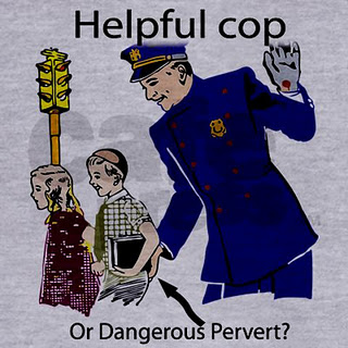 helpful cop dangerous pervert